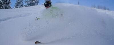 Skier Powder Spray
