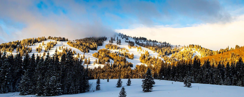 Panoramic View Of Beaver Mountain
