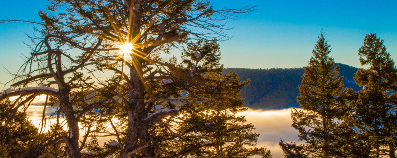 Sunrise at Beaver Mountain