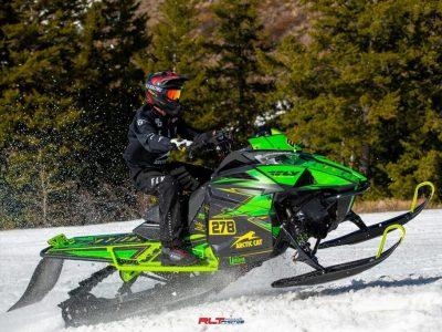 Snowmobile Racer